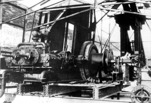 Albania 1934 Penkova Sonda Fauch in montaggio