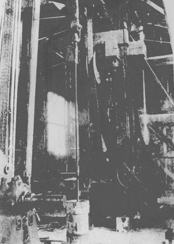 Albania 1934 Pestiani Piano sonda del'limpianto Fauch