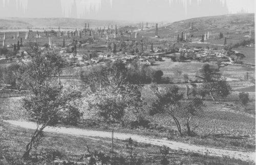 Albania 1940 Devoli Veduta panoramica cantiere AIPA