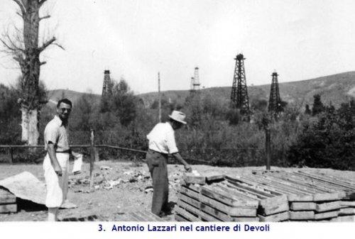 Antono Lazzari cantiere