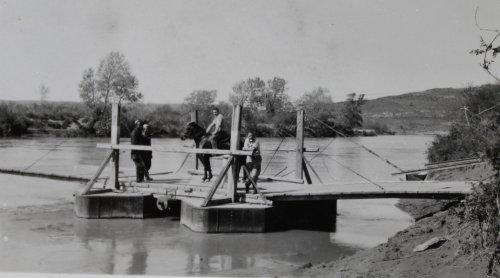 il traghetto sul fiume Devoli