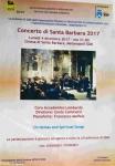 Concerto di Santa Barbara 4.12.2017 Sez SDM