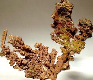 Cristallo di rame Copperbelt