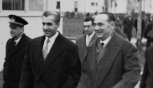 Foto Mattei e Reza Palevi a Metanopoli
