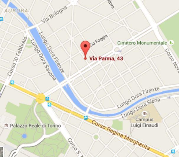 Mappa sede Sez Torino
